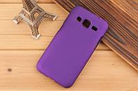 Чехол накладка бампер для Samsung Galaxy Core Prime G360 фиолетовый