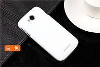 Чехол накладка бампер для Lenovo A706 белый