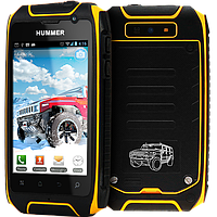 Hummer H1+, GPS, 2800 мАч, 5 Mpx, 2 ядра, Android 4.2, Retina-дисплей. Ультра защищенный телефон!