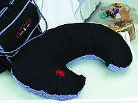 Подушка рогалик для кормящих мам.