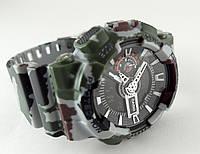 Часы мужские G-Shock, хаки с серебром, матовые, khaki