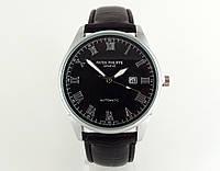 Мужские часы Patek Philippe - Geneve, корпус - серебристый, кварцевые