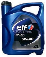 Моторное масло синтетика ELF (Эльф) Evolution 5w40 4л