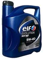 Моторное масло синтетика ELF (Эльф) Evolution 5w40 5л