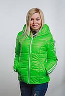 Женская спортивная курточка  салат, фото 1