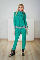 Костюм спортивный женский мята, фото 1