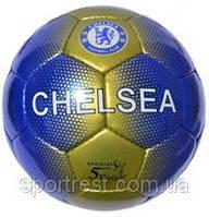 """Мяч футбол """"CHELSEA"""" 5-ти слойный с полимерным покрытием изг.BALLON . NEW"""