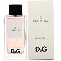 Женская туалетная вода Dolce&Gabbana №3 Anthology L`Imperatrice EDT 100 ml