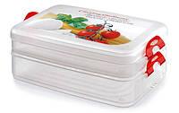Контейнер для продуктов 2-ярусный, 2 л Snips Италия