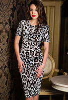Женское стильное облегающее платье