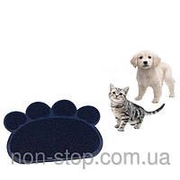 ТОП ВИБІР! Коврик для домашних животных, коврики для животных, Подстилка для животных, Paw Print Litter Mat, коврики для питомцев, килимок для