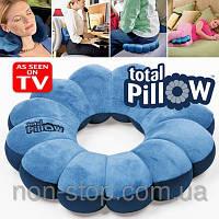 Дорожная подушка для шеи, подушка в дорогу, дорожная подушка под спину для автомобиля, Дор 1000404