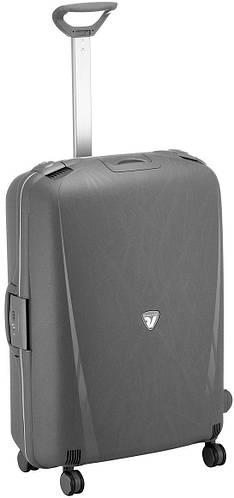 Средний чемодан-спинер пластиковый 70 л. 4-колесный Roncato Light 500712/62 антрацит