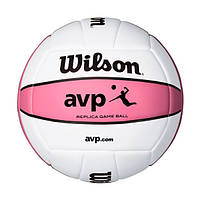 Мяч волейбольный Wilson AVP Replica Pink р. 5 (WTH4679XDEF)