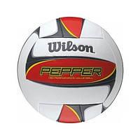 Мяч волейбольный Wilson Pepper VB Red Bulk р. 5 (WTH5109XB)