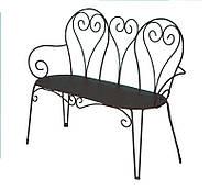 Лавочка Tenerife метал ( с матрасом). Мебель пластиковая, садовая