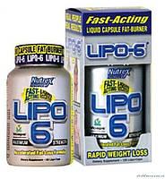 Nutrex Research Lipo 6 (Липо 6) 120 капсул Жиросжигатель