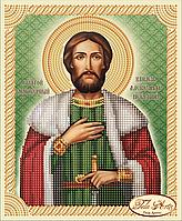 Схема для вышивки бисером Святой Благоверный Князь Александр Невский ТИМ-044(1)