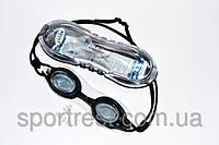 Очки для плавания - материал оправы силикон.