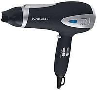 Бытовой фен scarlett 1270, с ионизатором, 3 уровня нагрева, высокая мощность 2000w, сушка волос, укладка