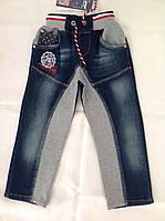 Джинсовые брюки для мальчиков A-yugi комбинированные