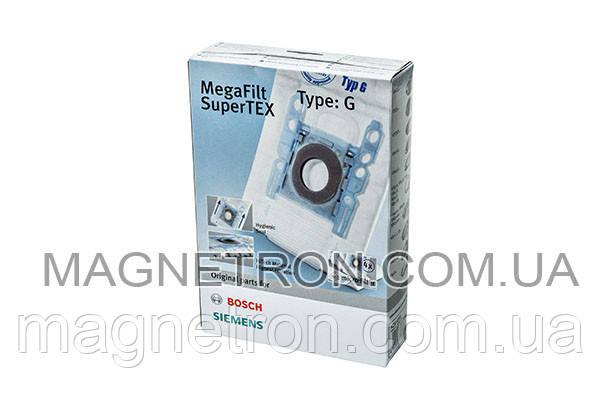 Мешки микроволокно Type G + фильтр BBZ41FG для пылесоса Bosch, Siemens 468383, фото 2