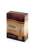 Травяная краска для волос на основе индийской хны - Каштановый