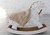 Детский двухслойный трикотажный плед-покрывало для детской кроватки с натуральной подкладкой