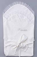 """Летний конверт для новорожденного """"Розы"""""""