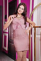 Платье женское по фигуре нарядное в 3х цветах IR Жаккард