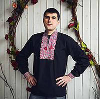 Мужская вышиванка с модным орнаментом