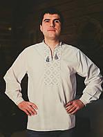 Мужская вышиванка белого цвета