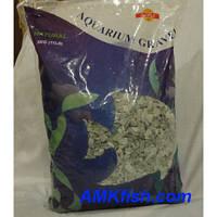 Sinoma грунт для аквариума натуральный зелёный 4-6мм, 5кг