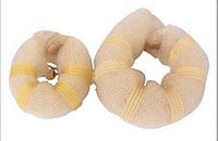 Пончики для гульки, набор из 2-ух штук разного размера - большой и малый, цвет - блонд