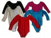 Купальники гимнастические. ( S, M, L, XL. чёрный, белый, малиновый, красный, бирюзовый, синий ).
