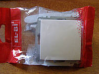 Выключатель одинарный без рамки El-Bi ZENA белый