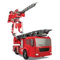 Робот трансформер Пожарная машина