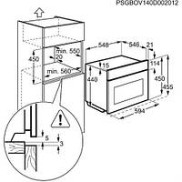 Компактная встраиваемая духовка Electrolux EVY7800AAX