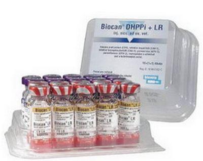 Вакцина Биокан dhppi+lr,