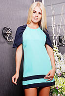 Платье женское в 3х цветах IR Реглан