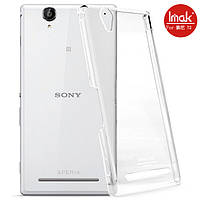 Пластиковый чехол Imak Crystal для Sony Xperia T2 Ultra D5322 прозрачный