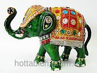 Слон металл бисер