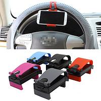 Крепление для телефона на руль автомобиля