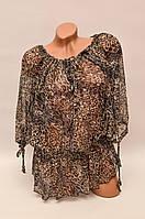 Шифоновая летняя блуза LN-4724 (разные цвета)