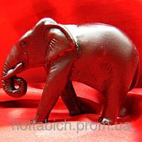 Слон  каменная крошка коричневый
