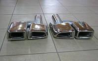 Насадки на выхлопные трубы AMG для Mercedes S-Class W221