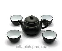 Сервиз чайный глиняный