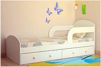 """Кроватка детская от 3х лет """"Teen"""", LANAMI белый"""
