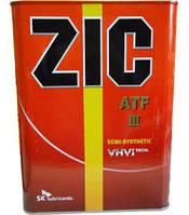 ZIC Трансмиссионное масло ZIC ATF III 4л
