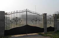 Кованные ворота 7410